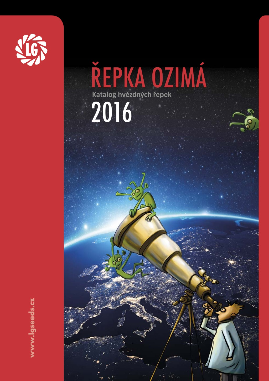 Katalog řepky 2016