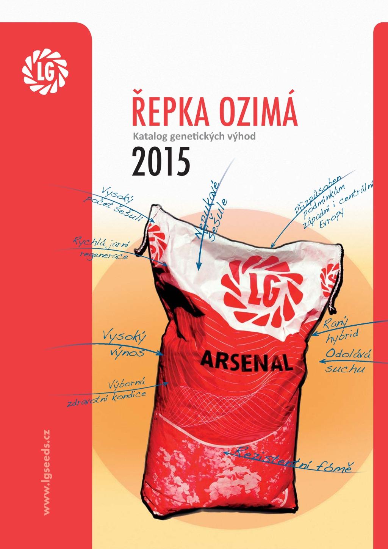Katalog Řepka OZIMÁ 2015
