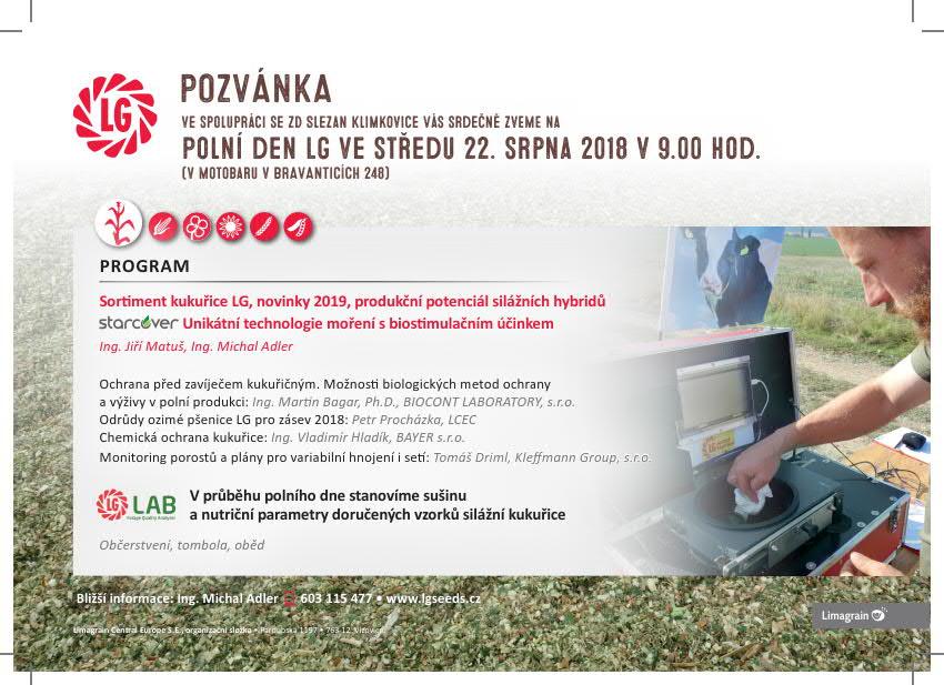 2018 CZ Pozvánka Klimkovice