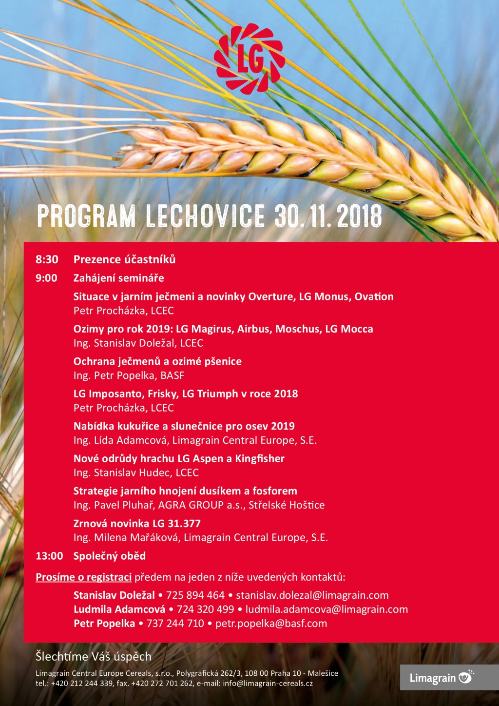 PROGRAM Lechovice 2018