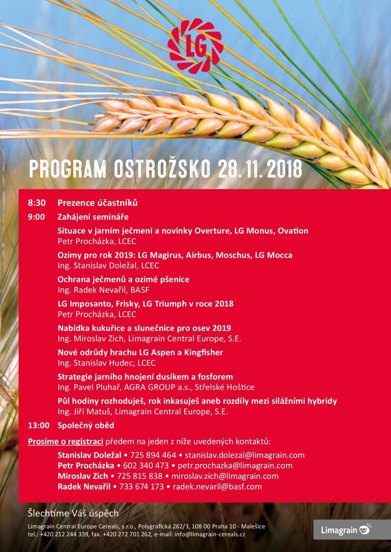 PROGRAM Ostrožsko 2018
