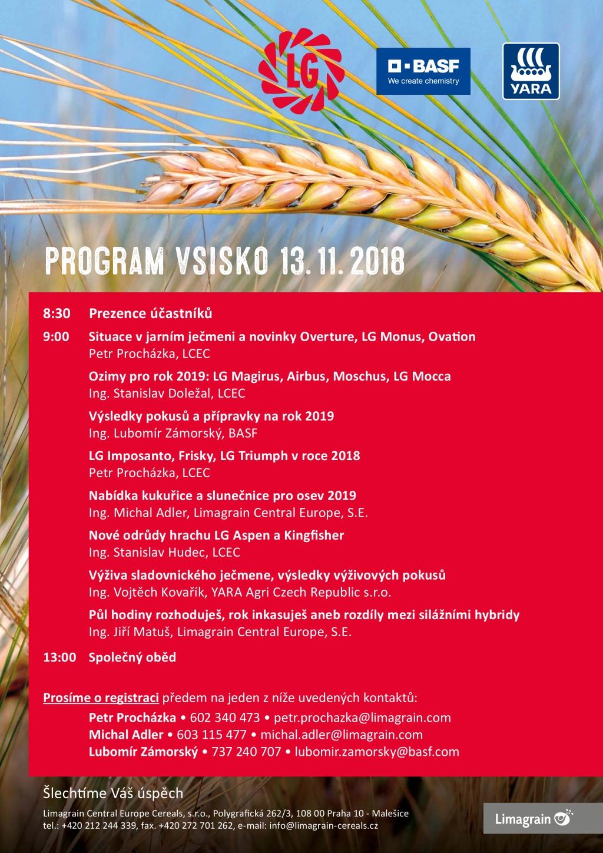 Program Vsisko 2018