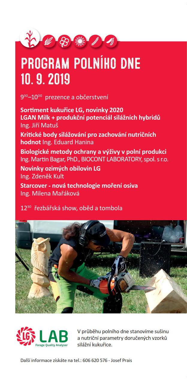 2019 CZ Dřevec program