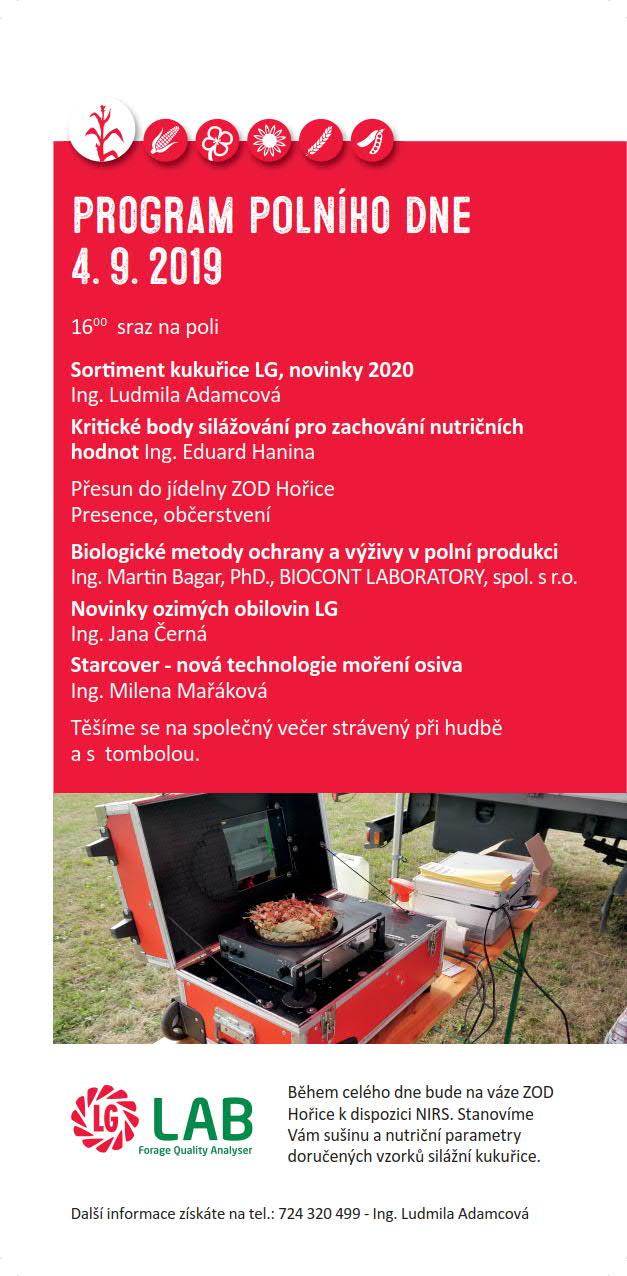 2019 CZ Hořice program