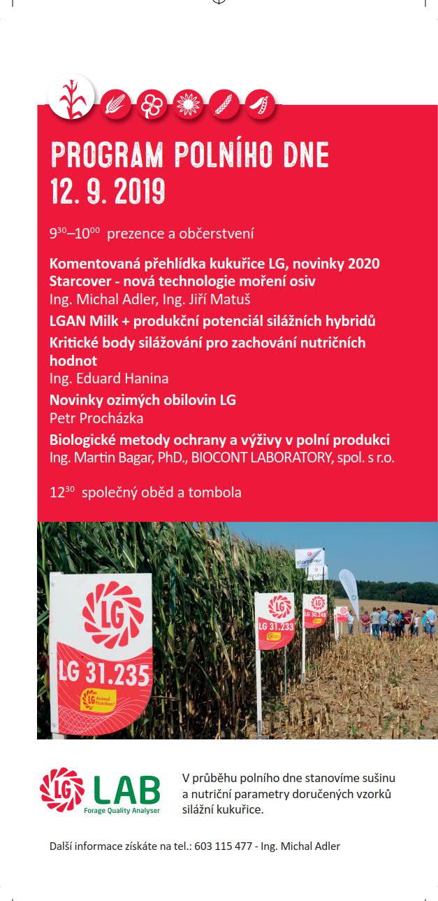 2019 CZ Klimkovice program