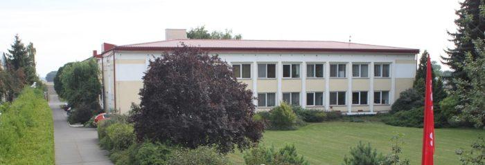 Budova ŠS Hrubčice