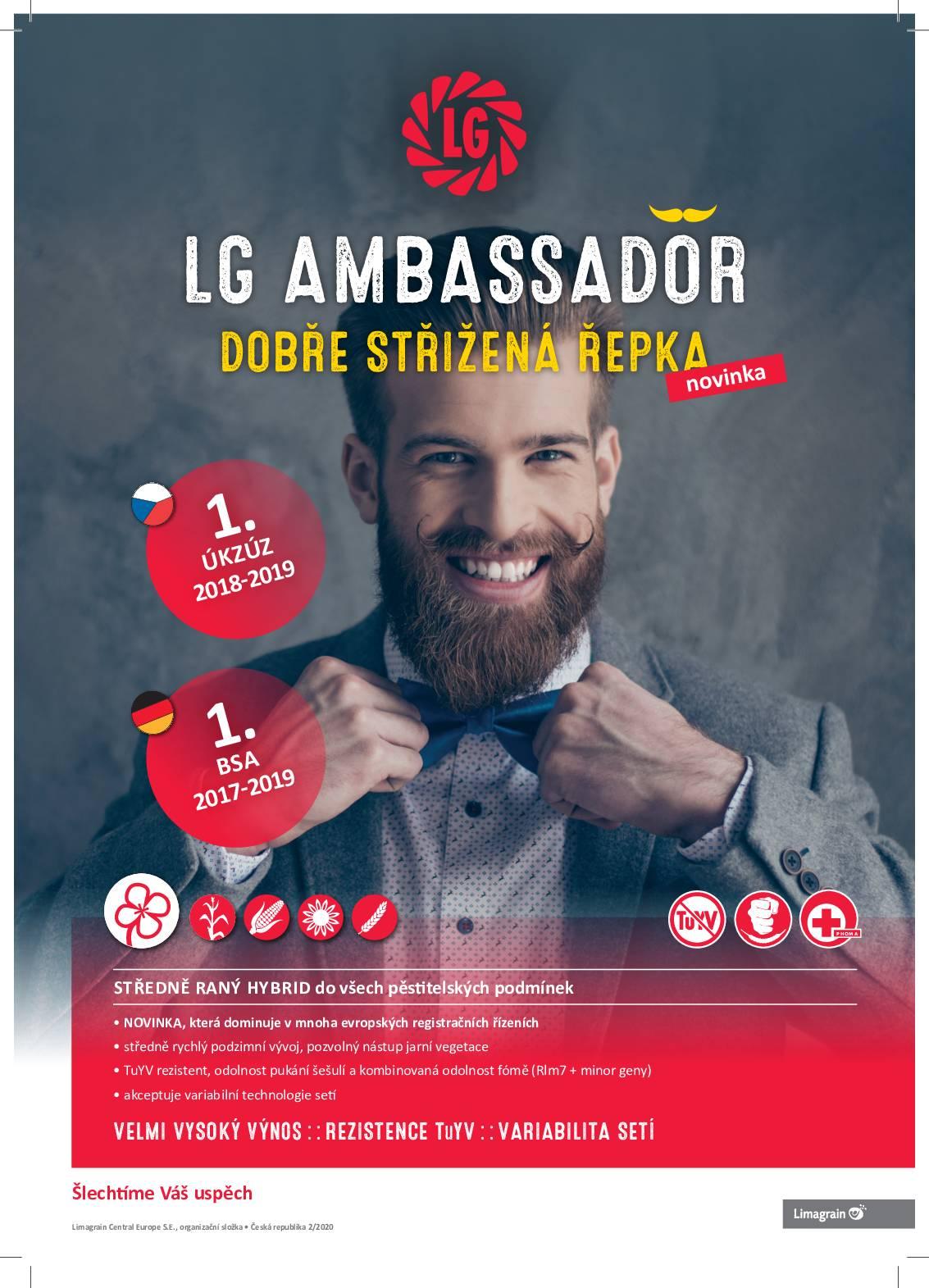 LG Ambassador 2020 info letak