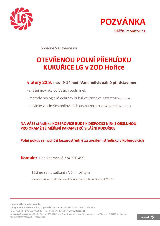 2020 CZ pozvánka na polní přehlídky Hořice2209